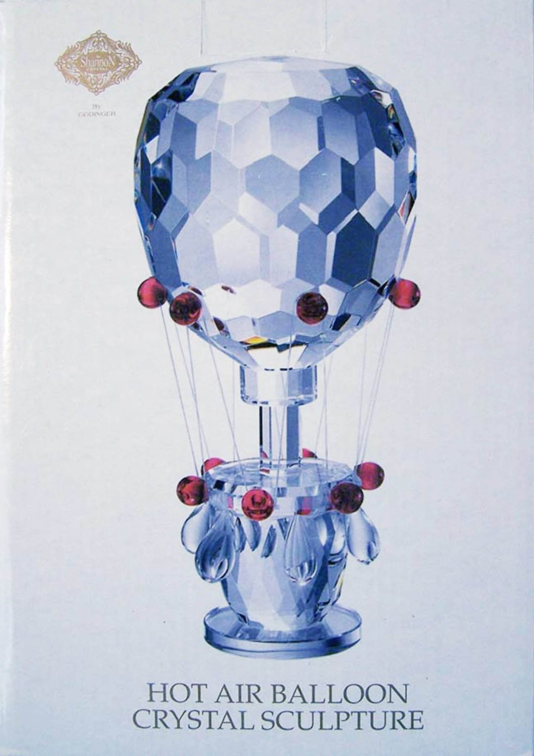 Collectable Crystal Hot Air Balloon by Godinger