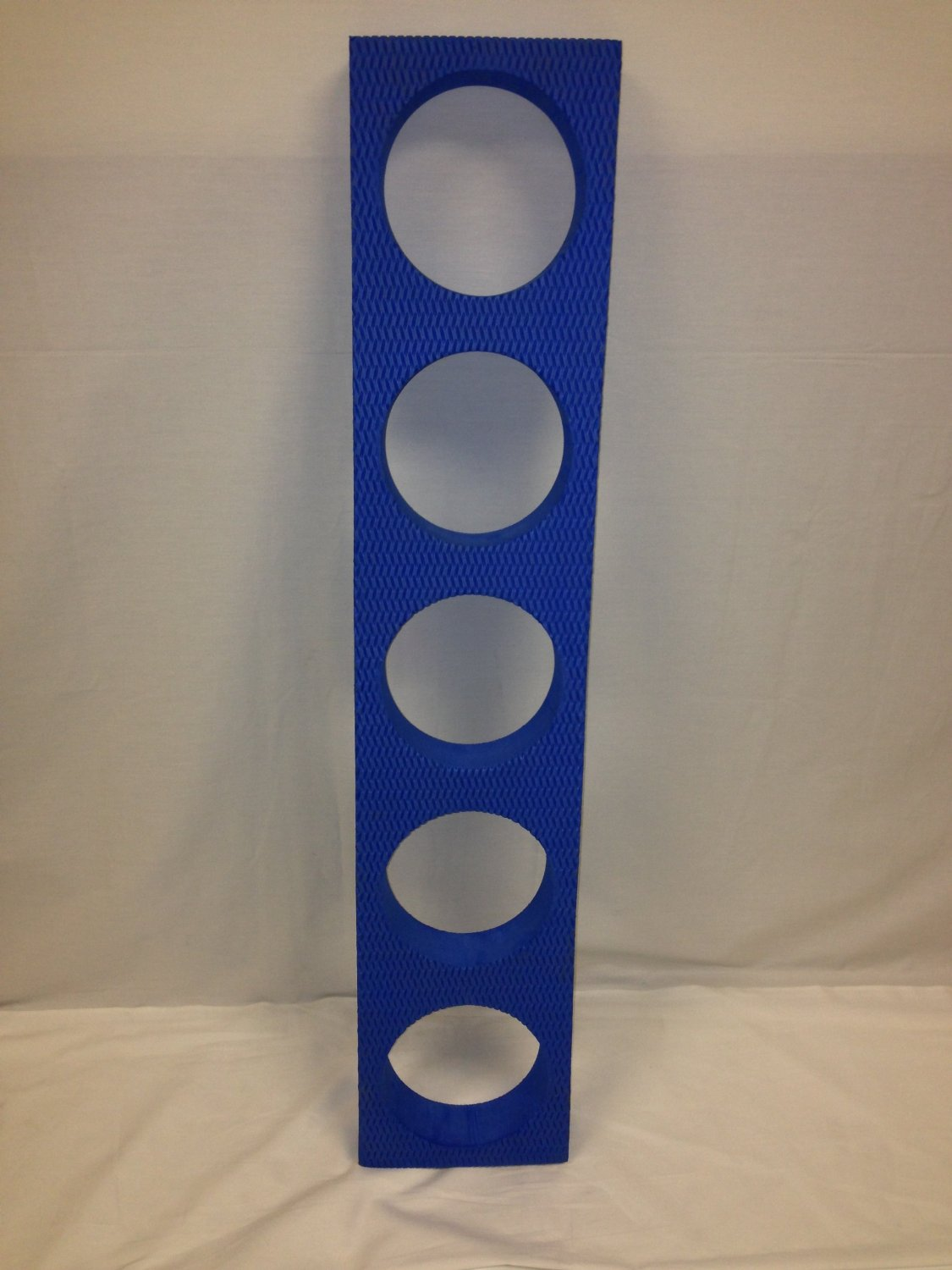 New INA Exercise EVA Foam Roller Stand Cart Rack Holds 5