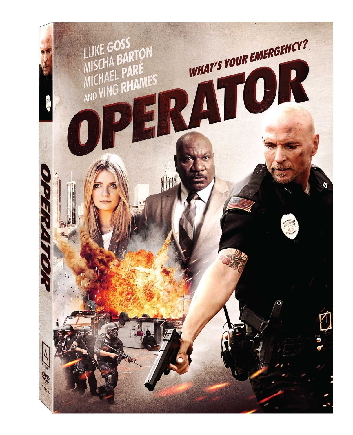 Operator movie on DVD released date 2015