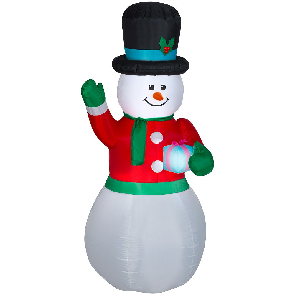 Holiday Time Gemmy Industries Yard Inflatables Snowman, 9 ft