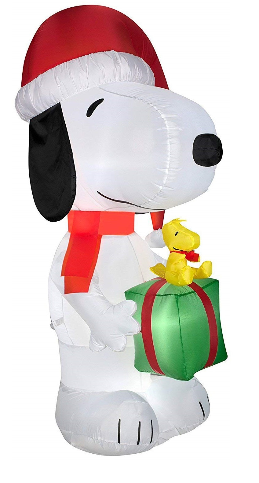 Airblown Inflatable Peanuts Snoopy with Present