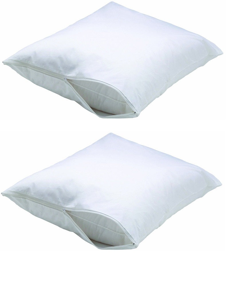 BedShield Pillow Encasement Queen Size, 2-Pack