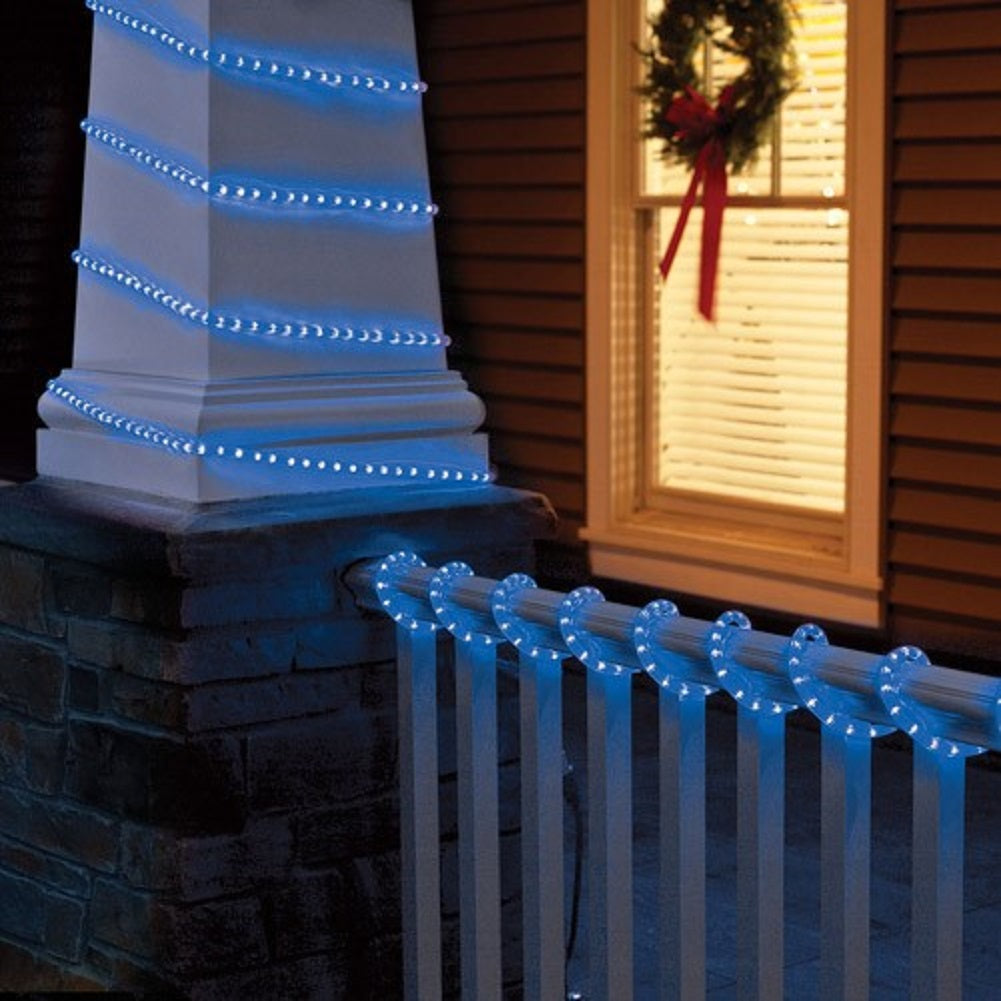 18- Ft Blue Crystallized Rope Light