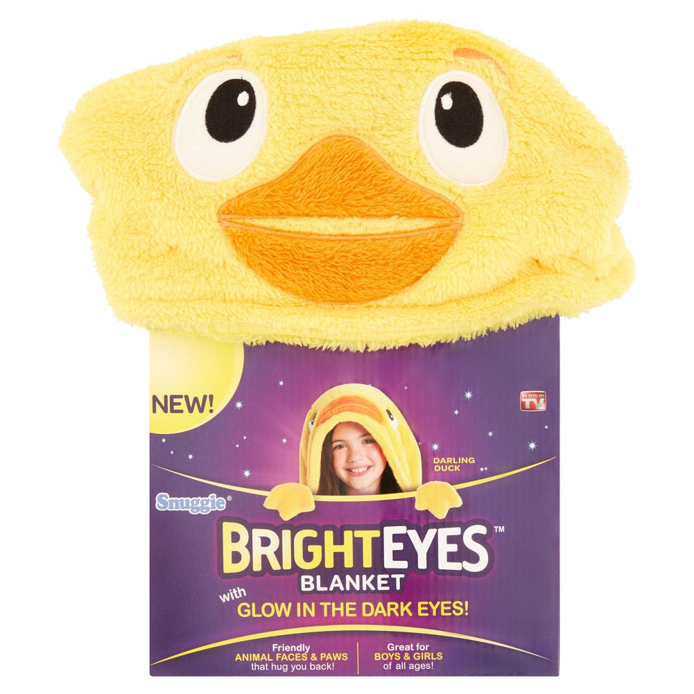 As Seen on TV, Snuggie BrightEyes Darling Duck Blanket