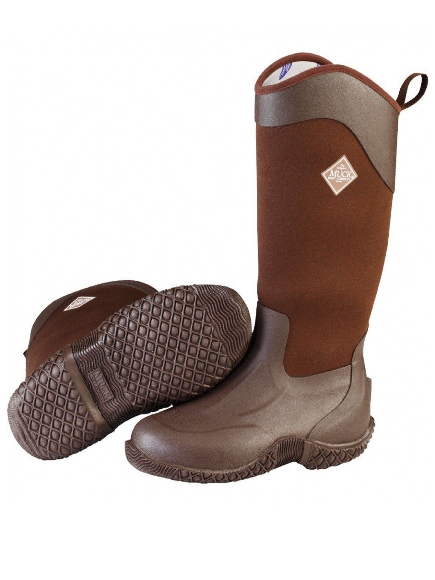 MuckBoots Women's Tack II High All Purpose Brown Boot, Size 8