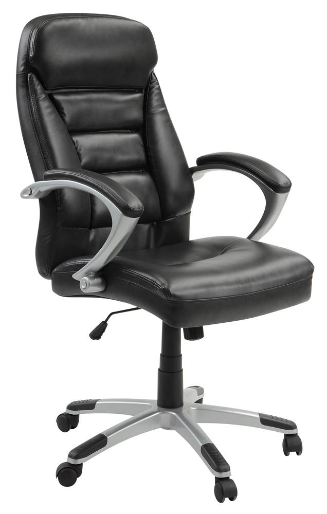 InnovEx Excelsus High Back Chair, Black