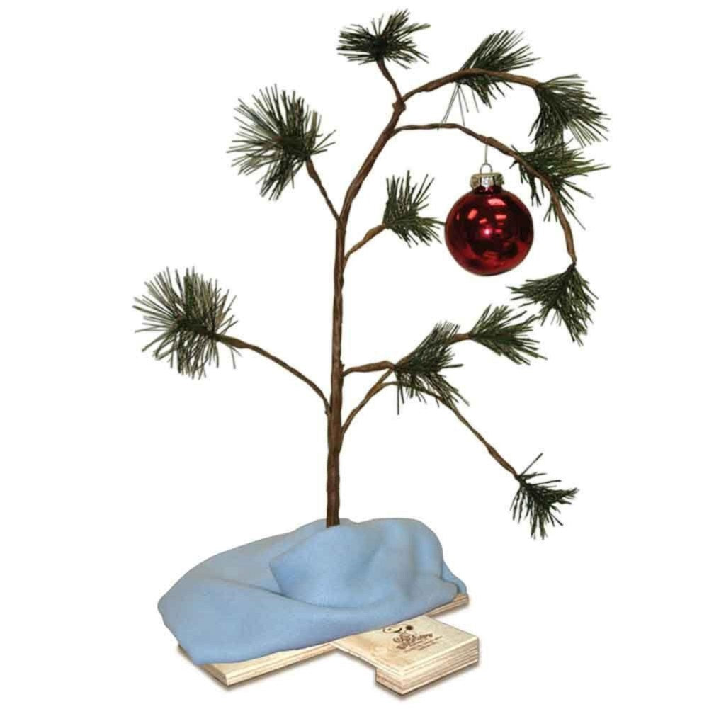 "Peanuts 24"" Musical Charlie Brown Christmas Tree"