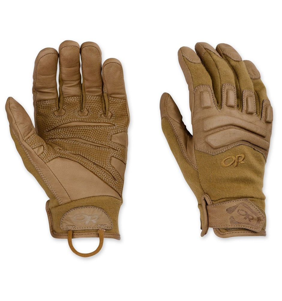 Outdoor Research Firemark Gloves, Coyote, Medium
