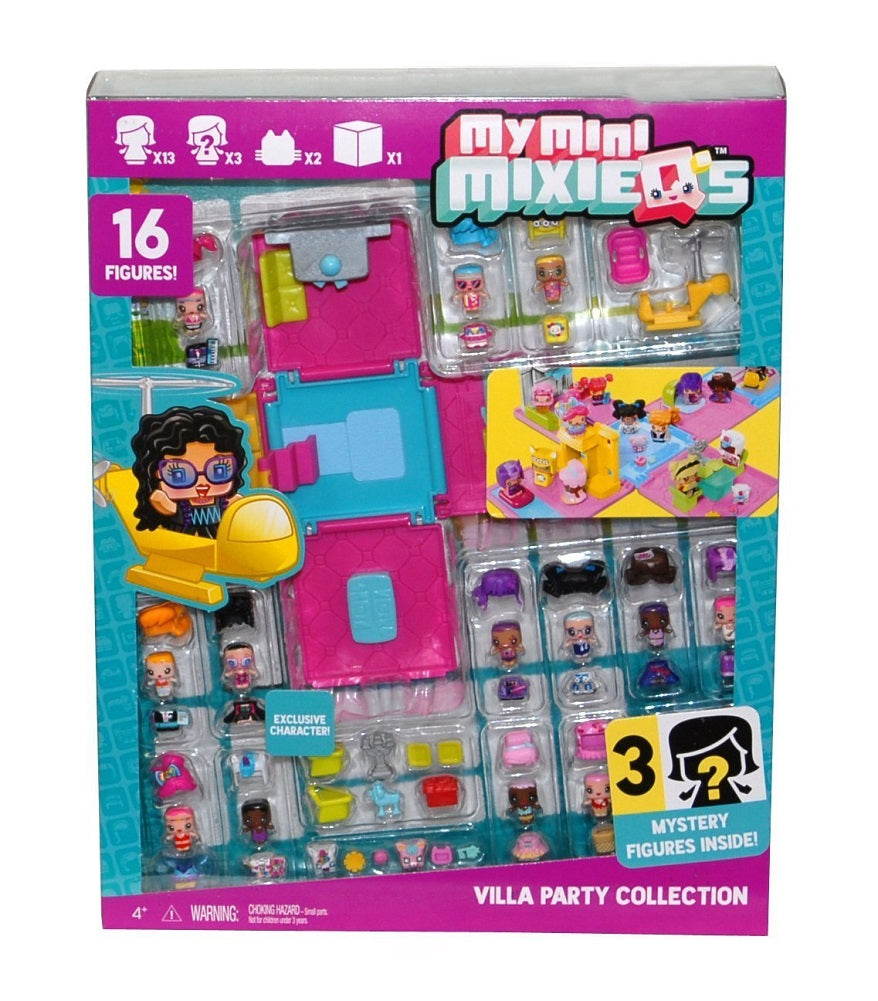 My Mini MixieQ's Villa Party Collection with 16 Figures