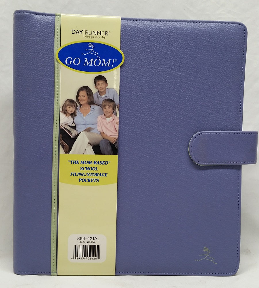 GO MOM Day Planner School Teacher Organizer, Purple