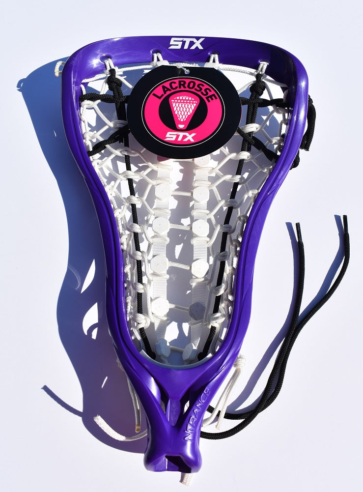 STX NTrance Women's Strung Lacrosse Head, Purple