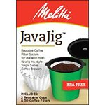 Melitta Coffee & Tea Filters JavaJig Reusable Coffee Filter System