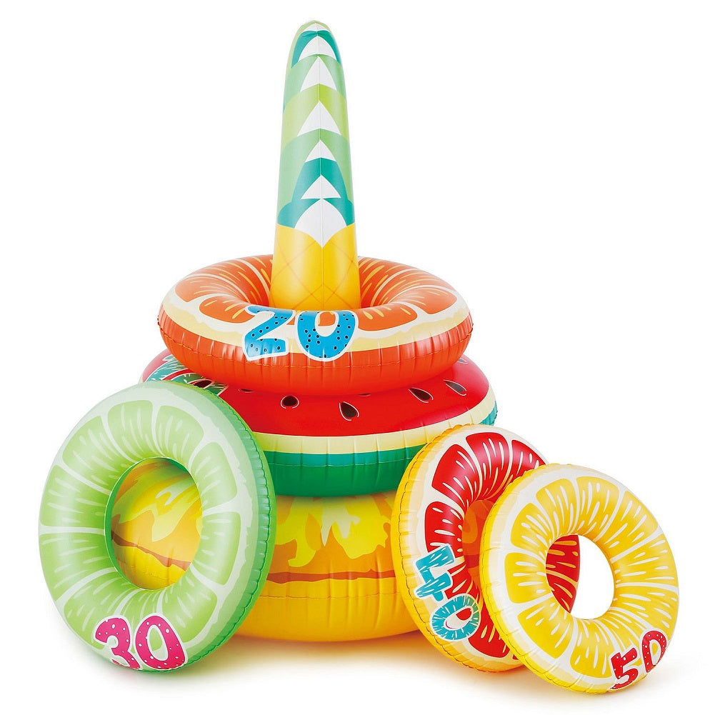 Summer Waves Splash Zone Jumbo Fruit Ring Toss