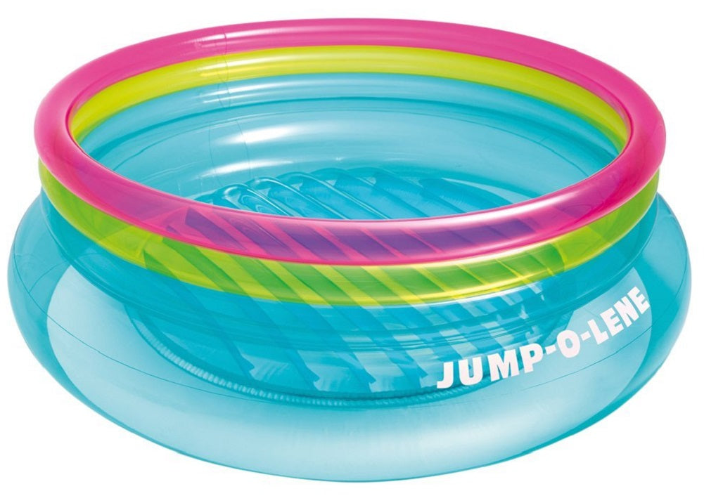 "Intex Jump-O-Lene Inflatable Bouncer, 80"" x 27"", for Ages 3-6"