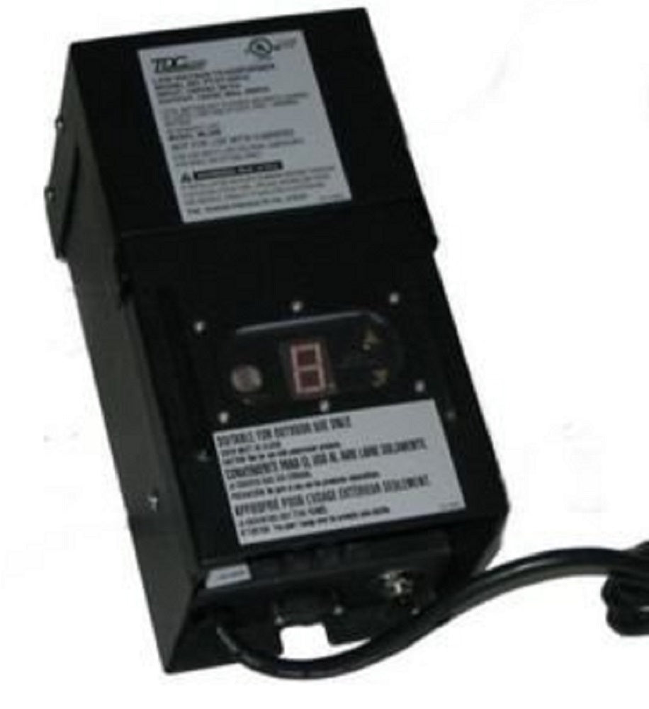 Intermatic MALIBU ML200 PTST-20012 12 Volt 200W Landscape Transformer with Light Sensor