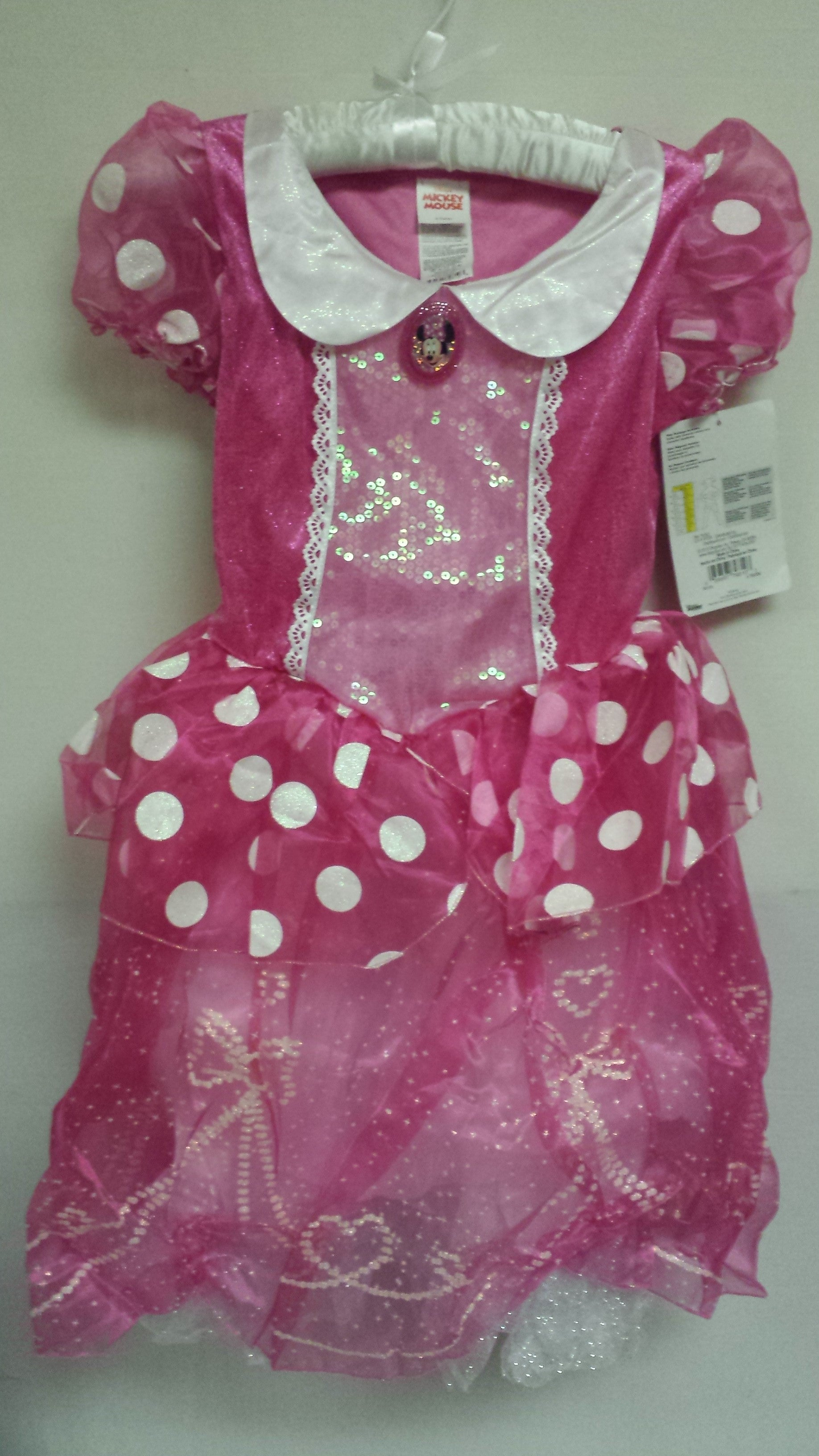 Disney Minnie Mouse Deluxe Child Costume, Medium (7-8 Years)