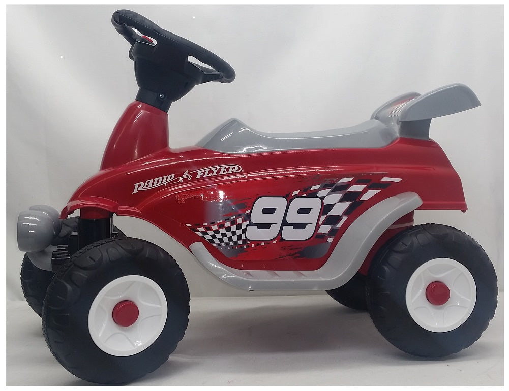 Radio Flyer Battery Powered Moto Racer Ride On, Red