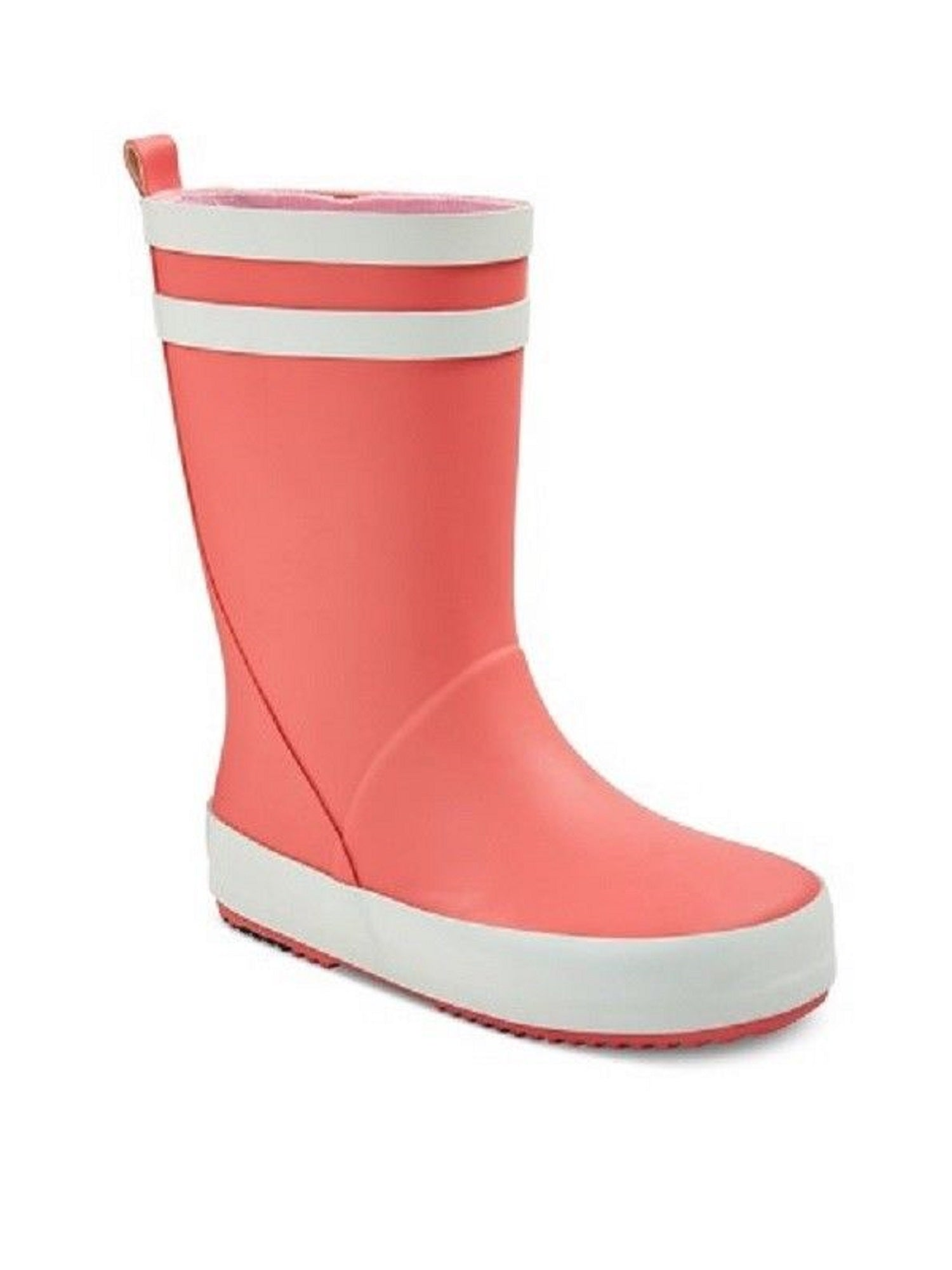 Cat & Jack Girls' Pink Rubber Garden Boot, Medium (7/8)