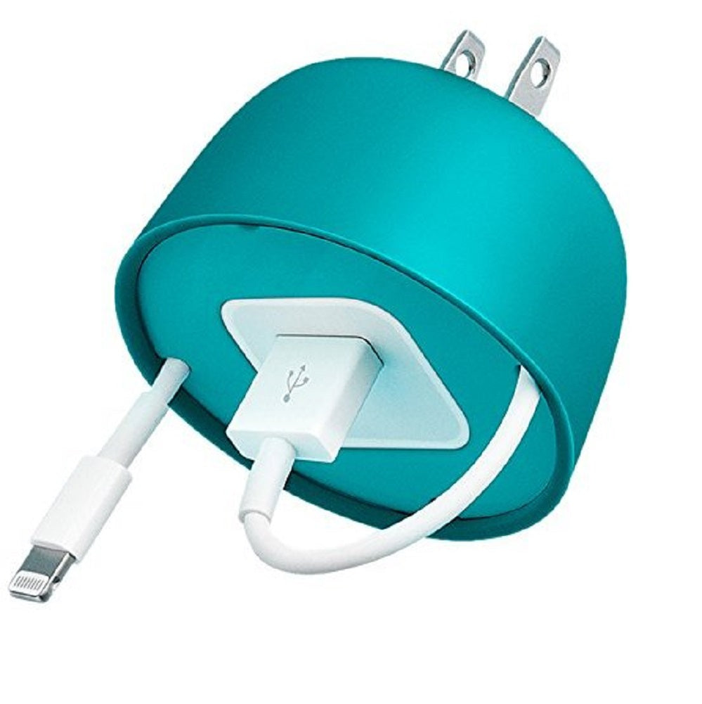 Quirky Powercurl Cord Wrap Mini POP, Teal
