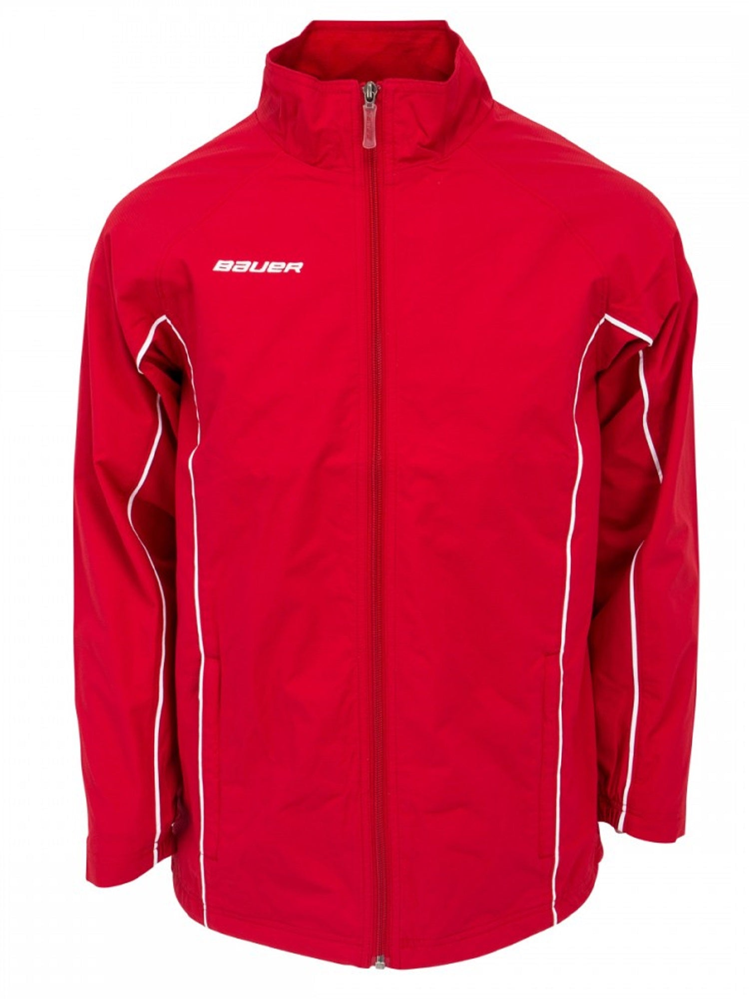 Bauer Senior Warm Up Jacket, Red X-Large