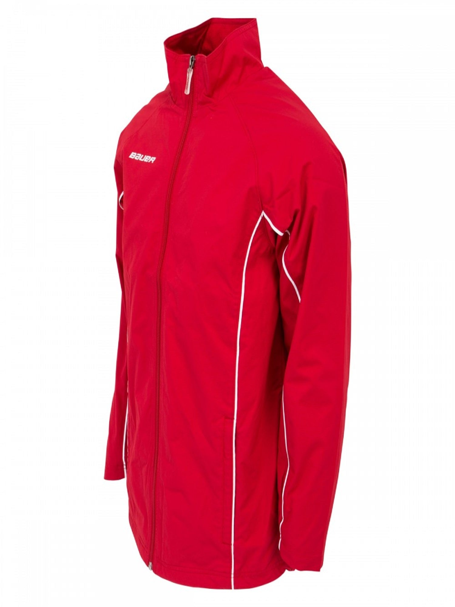 Bauer Youth Warm Up Jacket, Red X-Small