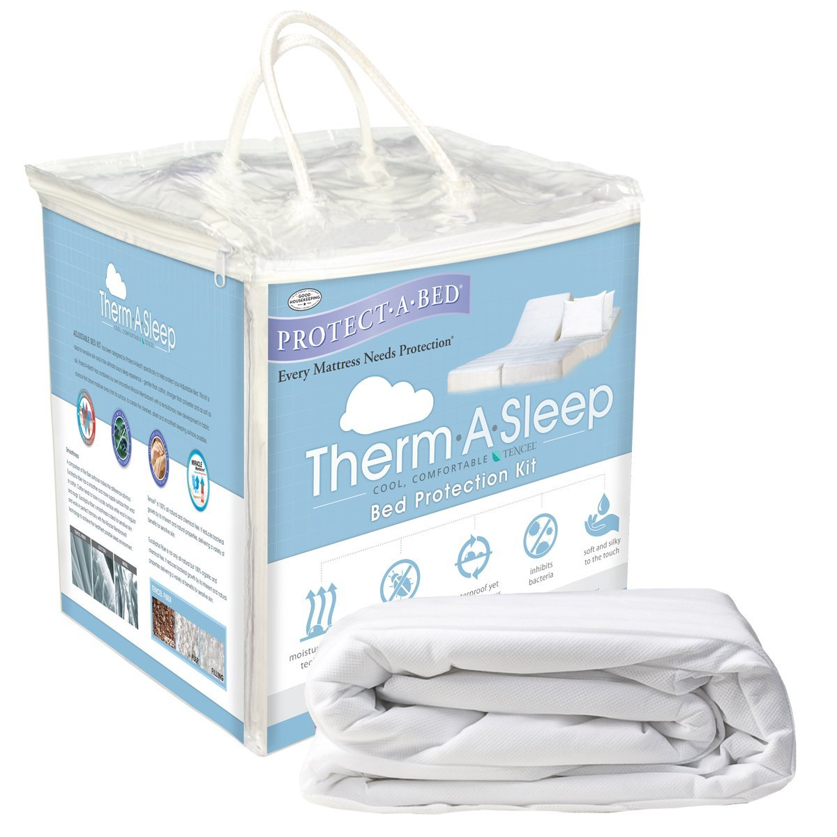 Therm-A-Sleep Bed Protection Kit, Split King