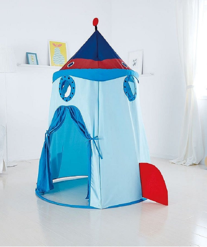 "J'adore Rocket Ship Play Tent 43.3"" X 63"""