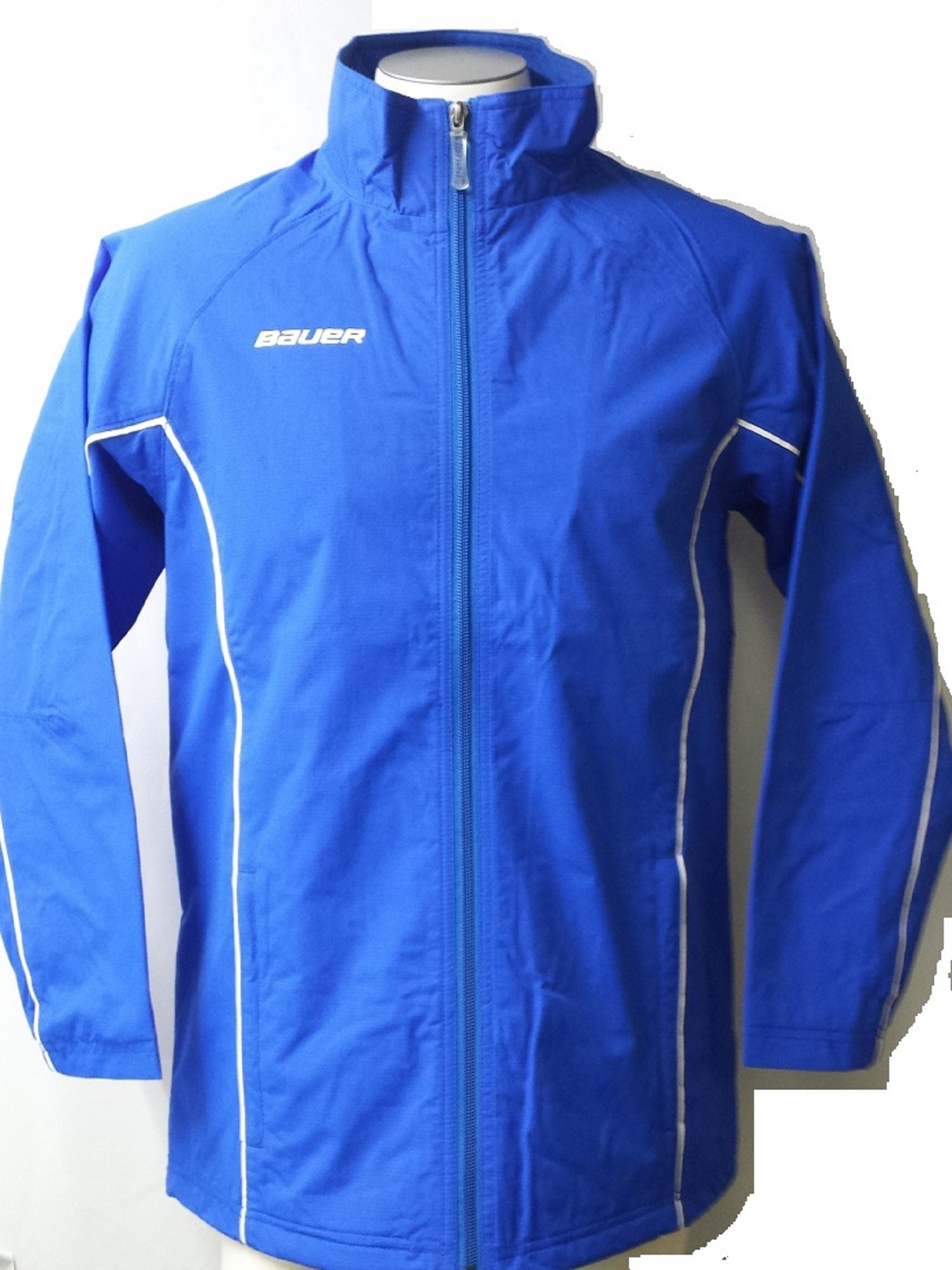 Bauer Youth Warm Up Jacket, Royal X-Small
