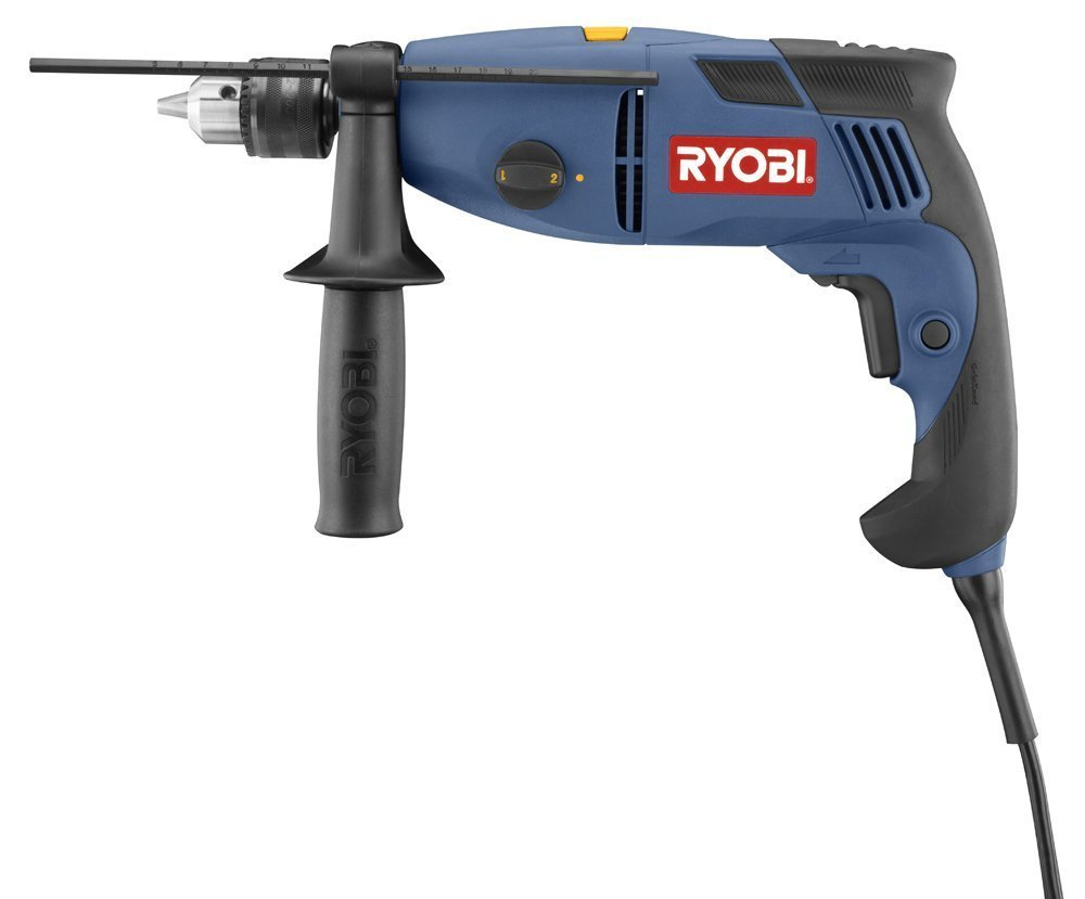 Factory-Reconditioned Ryobi ZRD552HK 1/2-Inch Two-Speed Hammer Drill