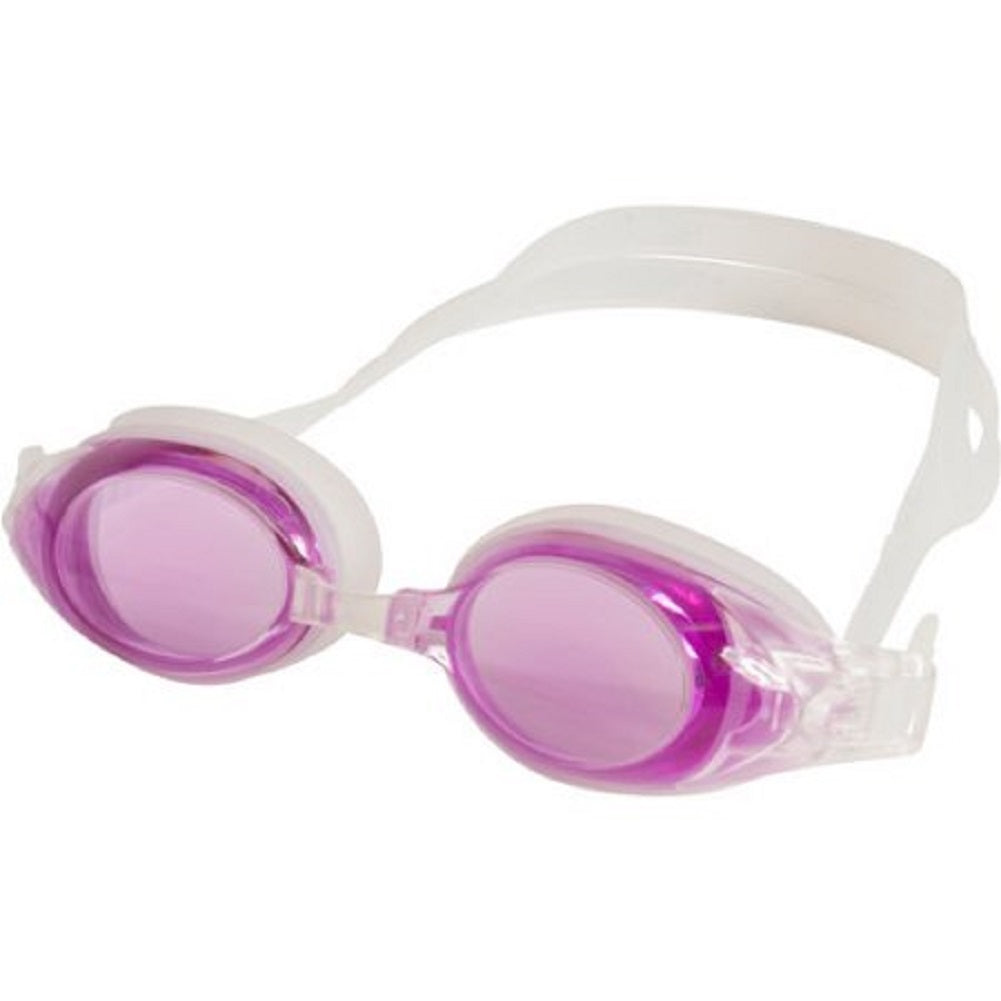 SavCo Optical Rx Purple Swim Goggles, -5.0