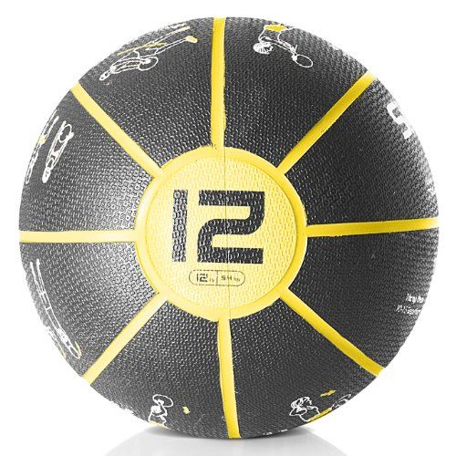 SKLZ G2 Self-Guided Medicine Ball 12 Lbs
