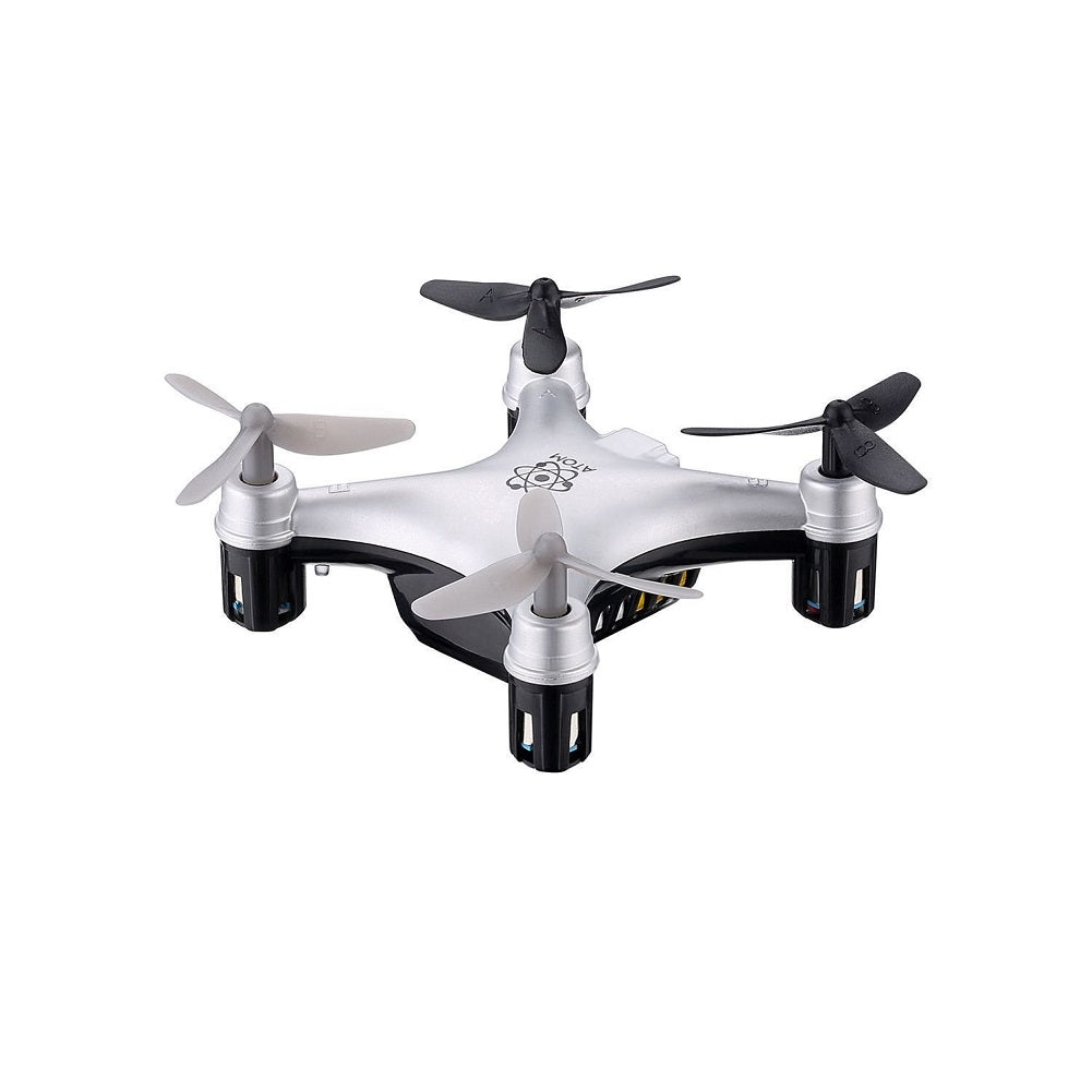 Propel Atom 1 Micro Drone Indoor Outdoor Wireless Quadracopter Silver
