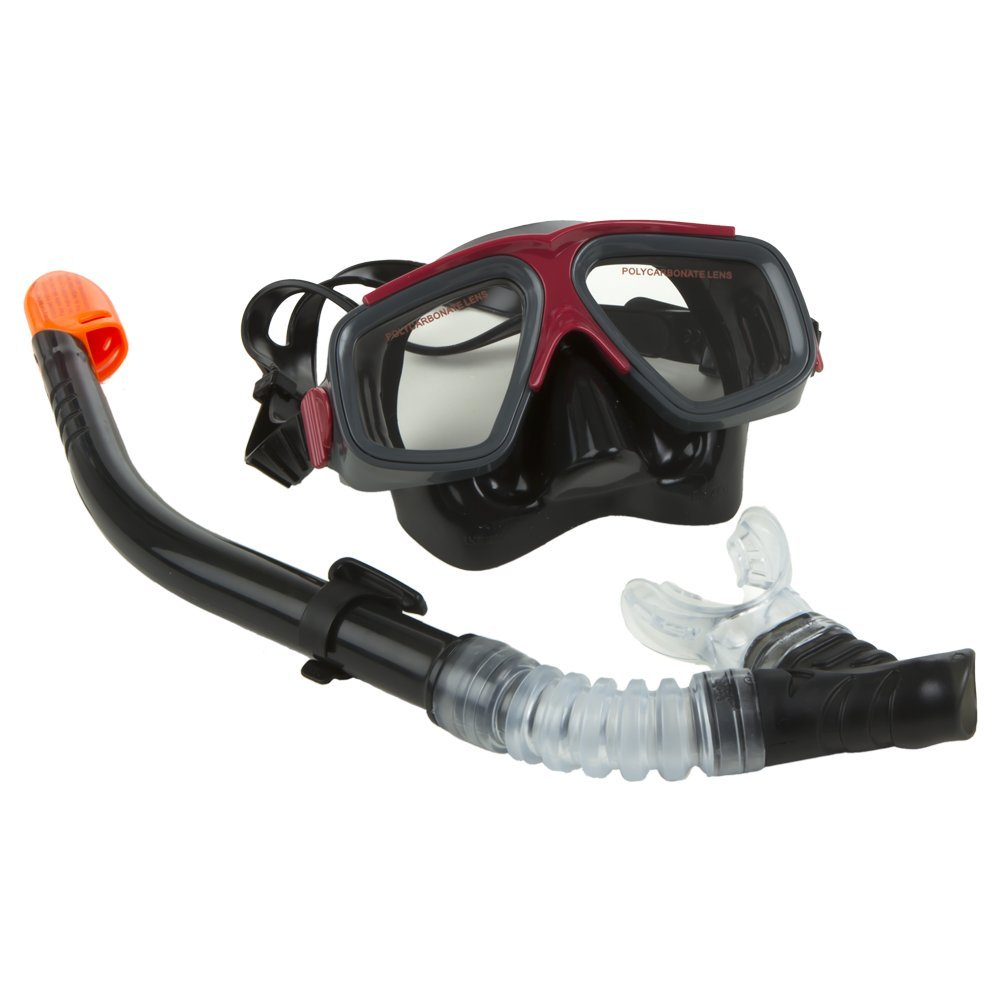 Intex - Surf Rider Adult Swimming / Diving Mask & Snorkel Set