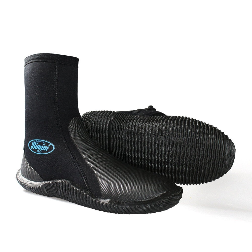 Wet Suit Diving Boots by Bimini H2O Gear, Size 6