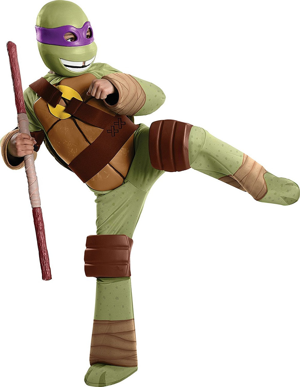 Teenage Mutant Ninja Turtles Child Deluxe Donatello Costume, Large 10-12