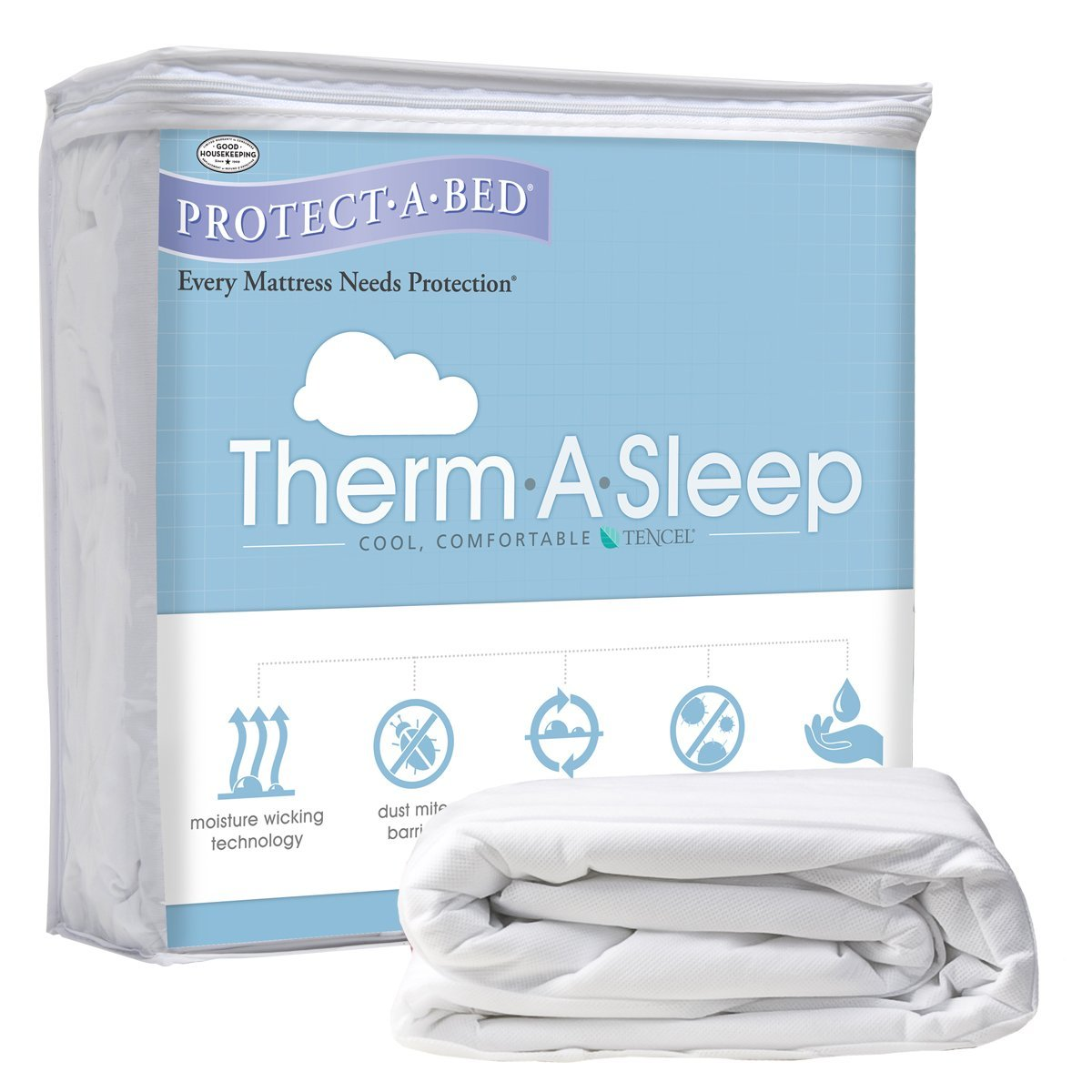 Therm-A-Sleep Mattress Protector FULL