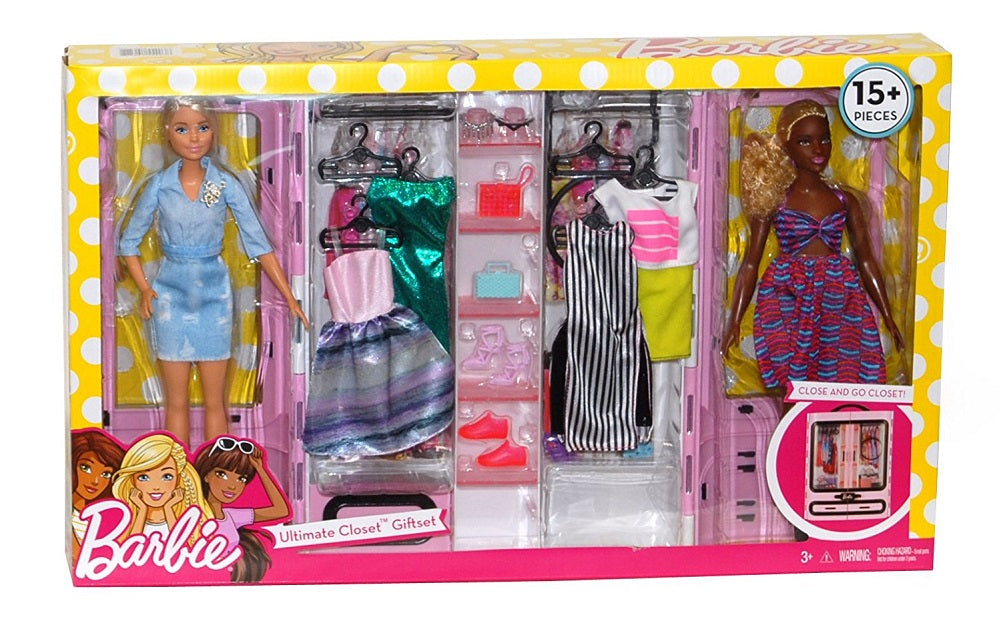 Barbie Ultimate Closet Giftset 15 Pieces