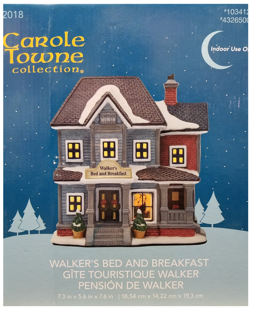 Carole Towne Collection Walker's Bed & Breakfast 2018