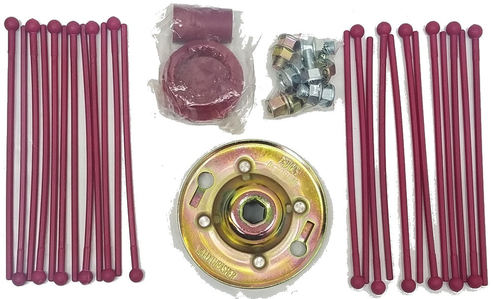 Weed Thrasher for trimmer 24 piece kit