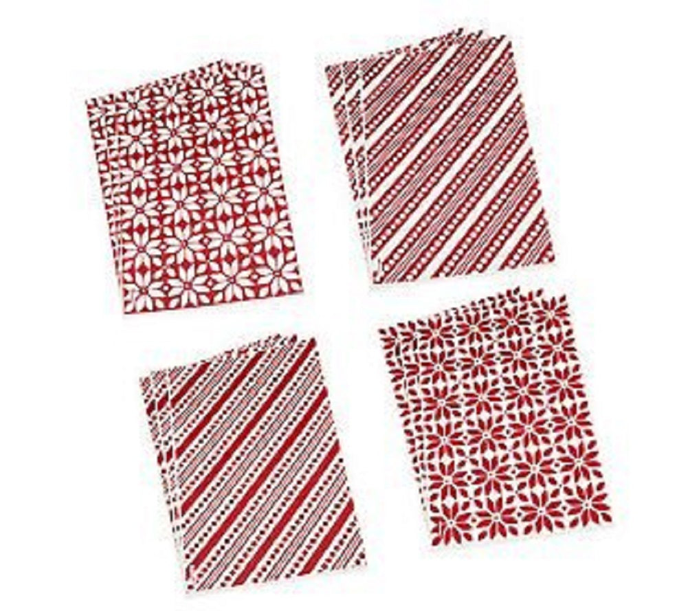 Set of 12 Holiday Wrapitz Decorative Sheets by Lori Greiner
