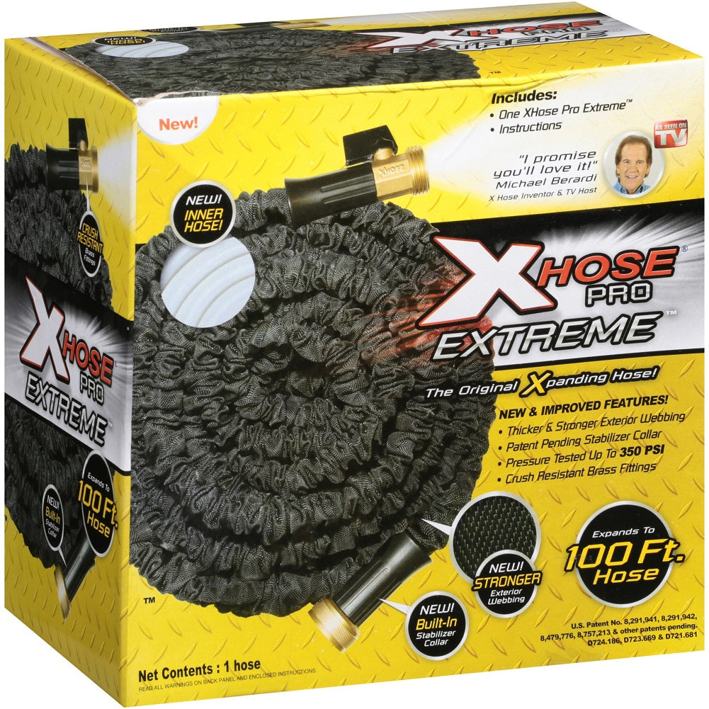 As Seen on TV XHose Pro Extreme The Original Expanding Hose, 100 Ft.