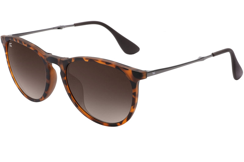 Foldies Polarized Folding Milanos | Matte Tortoise / Gradient