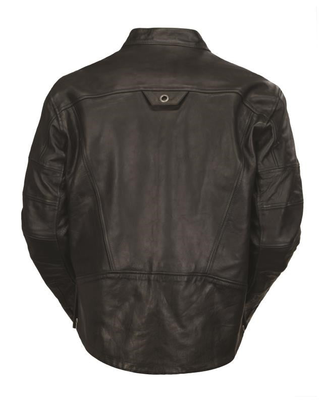 RSD (Roland Sands Design) Ronin Leather Jacket - Black - Ton-Up New Zealand - Motorcycle Helmets, Clothing & Accessories