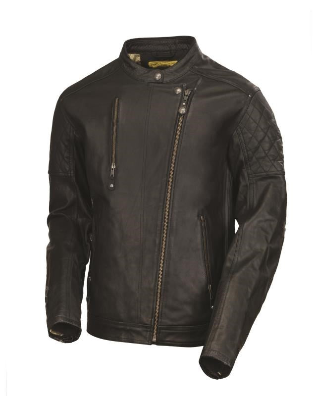 RSD (Roland Sands Design) Clash Leather Jacket - Black