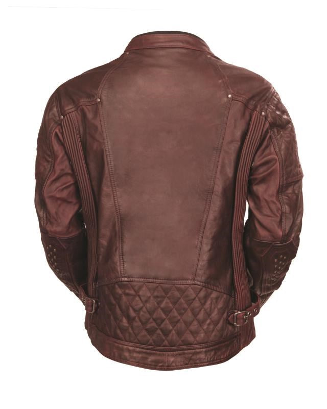 RSD (Roland Sands Design) Clash Leather Jacket - Ox Blood