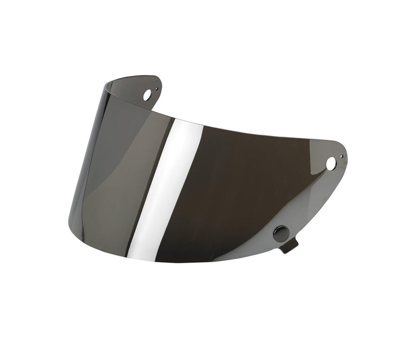 Biltwell Gringo S Anti-Fog Flat Shield - Chrome Mirror