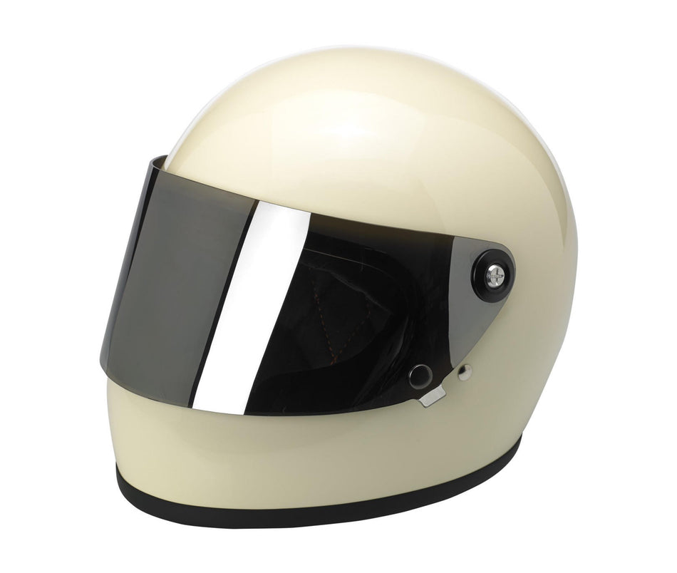 Biltwell Gringo S Gen 1 Anti-Fog Flat Shield - Chrome Mirror
