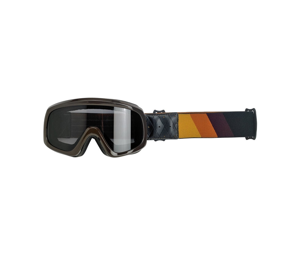 Biltwell Overland 2.0 Racer Goggle - Gold / Rust / Brown