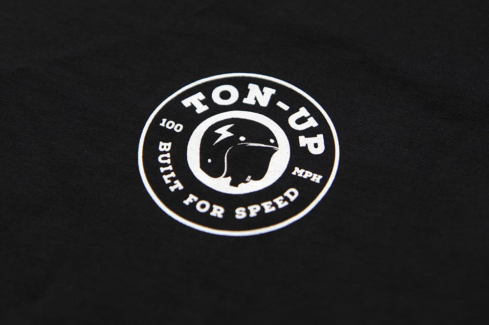 Built for Speed Spanner Tee - Mens - Ton-Up New Zealand - Motorcycle Helmets, Clothing & Accessories