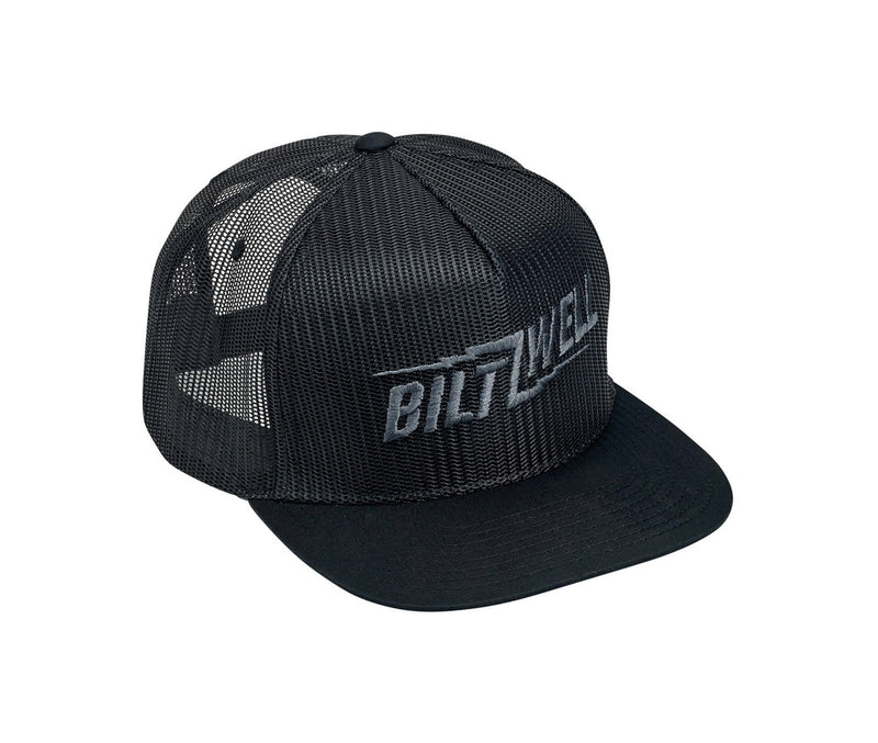 Biltwell Bolts Snap Back Cap - Black